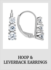 Hoop and Leverback Earrings